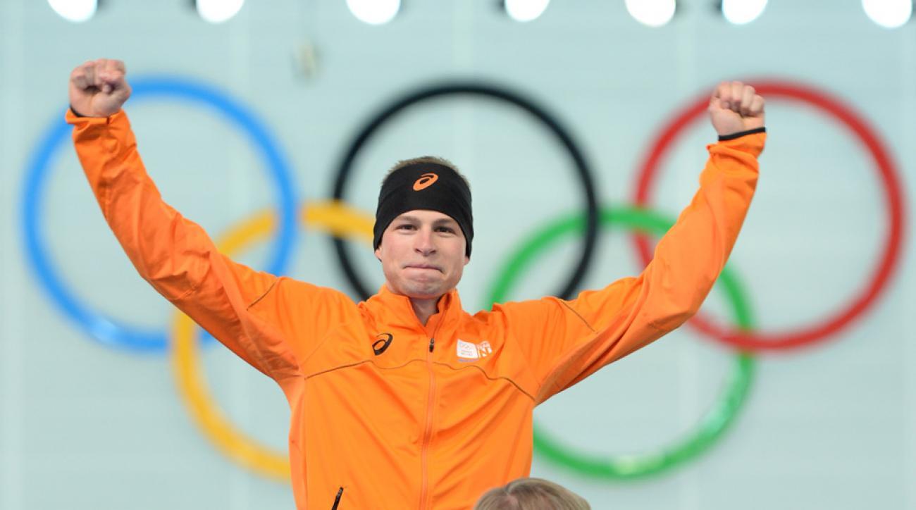Dutch speedskater Sven Kramer will not participate in the 1,500 meter race.