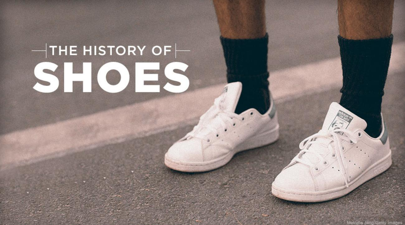 size 40 3d080 5cb3a The evolution of tennis shoes  From plimsolls to Stan Smiths and Nikes
