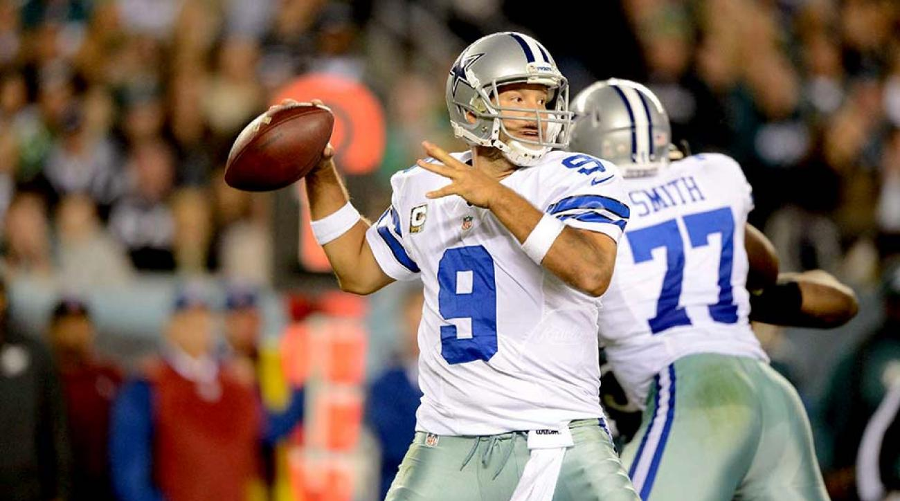 Tony Romo back surgery affecting deep throws