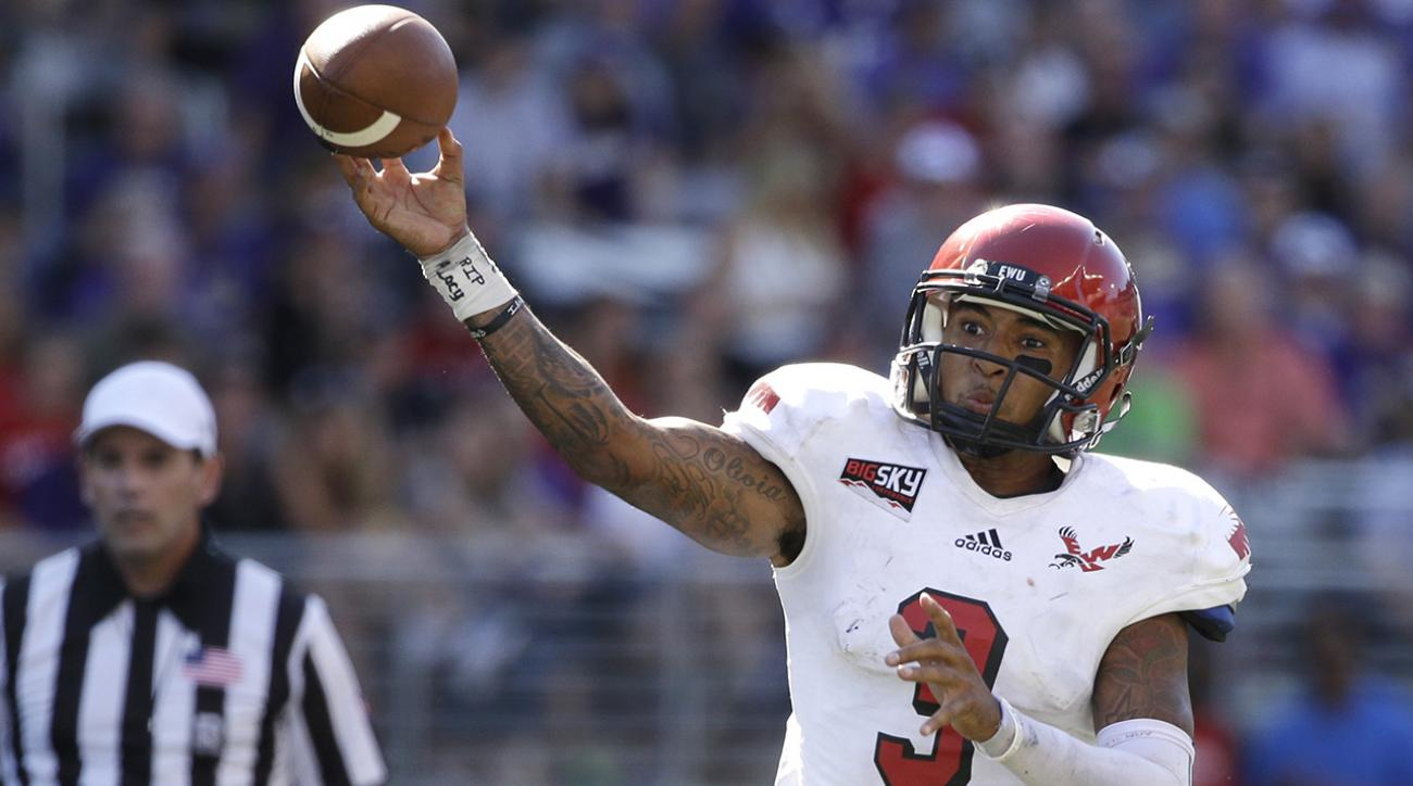 Eastern Washington QB Vernon Adams transfers to Oregon