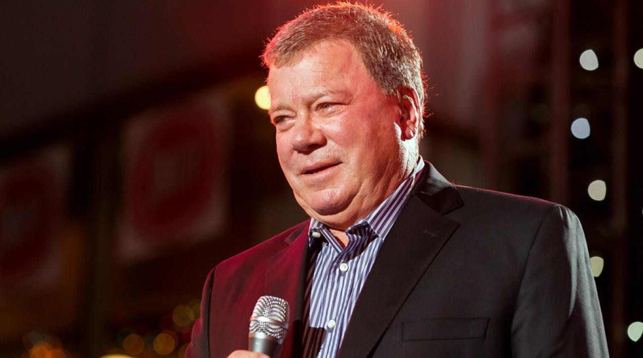William Shatner has been congratulating American Olympic athletes via Twitter throughout the competition.