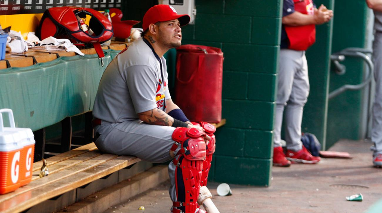 Molina will miss eight-to-12 weeks after a tearing a ligament in his right thumb.