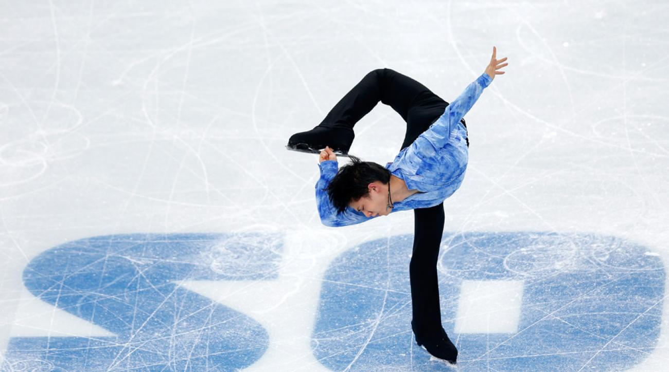 Yazuru Hanyu, only 19, gave Japan the lead in team figure skating.