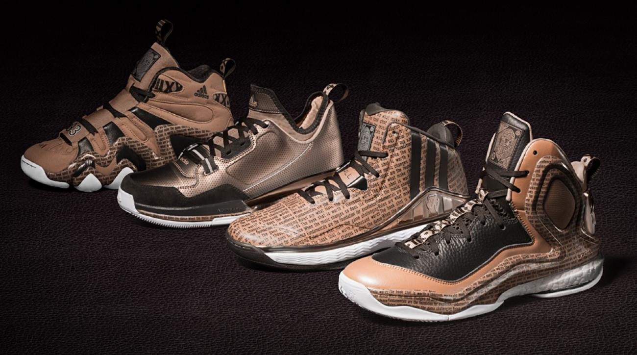 Kareem quotes cover Adidas' Black History Month sepia-toned collection