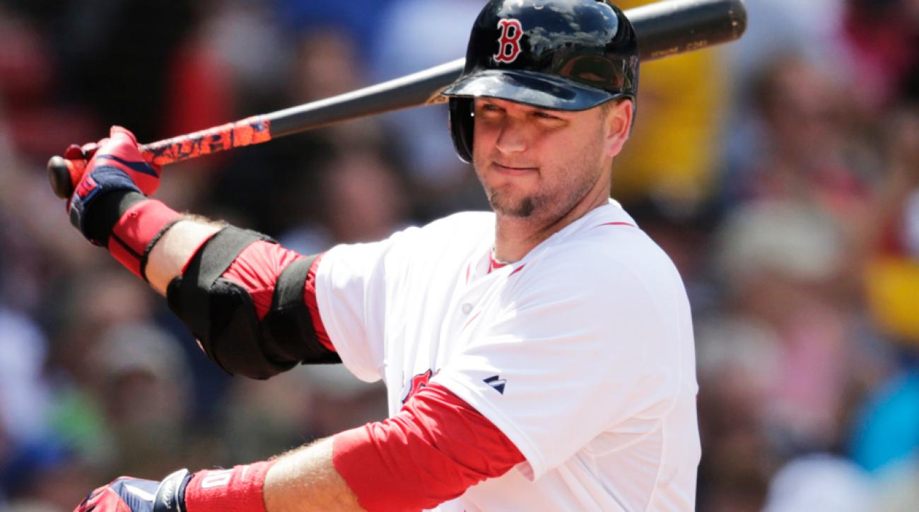 The Red Sox designated A.J. Pierzynski for assignment after the veteran catcher hit .254/.286/.348 in 274 plate appearances and 72 games for Boston.
