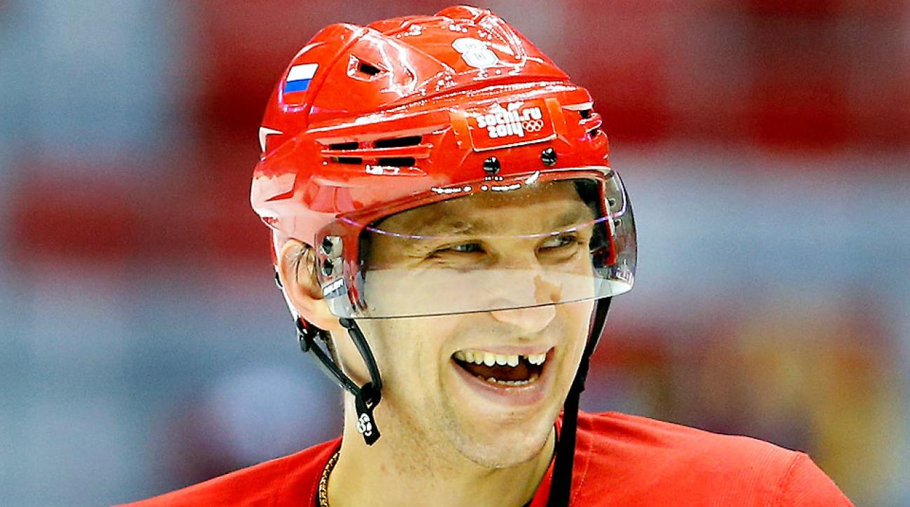 As the face of the host nation for the Olympics, Alexander Ovechkin faces a large risk but an equally large reward.