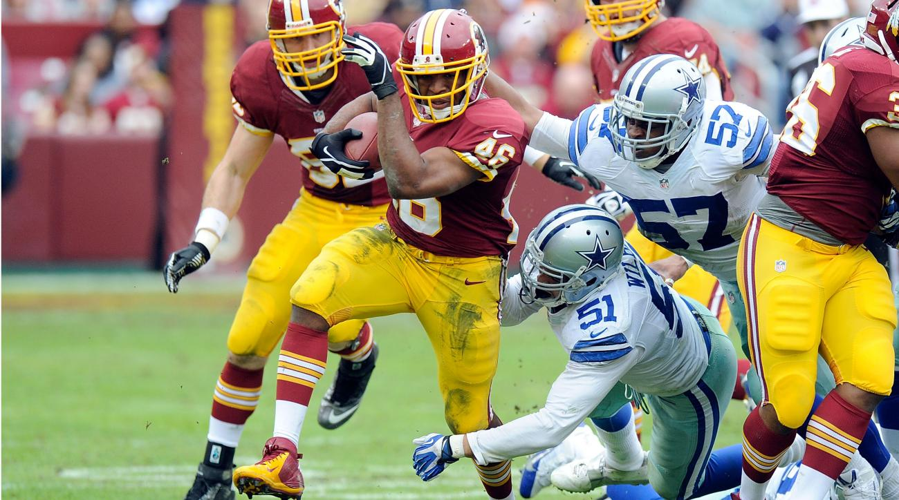 Robert Griffin III says Alfred Morris is Redskins' best weapon