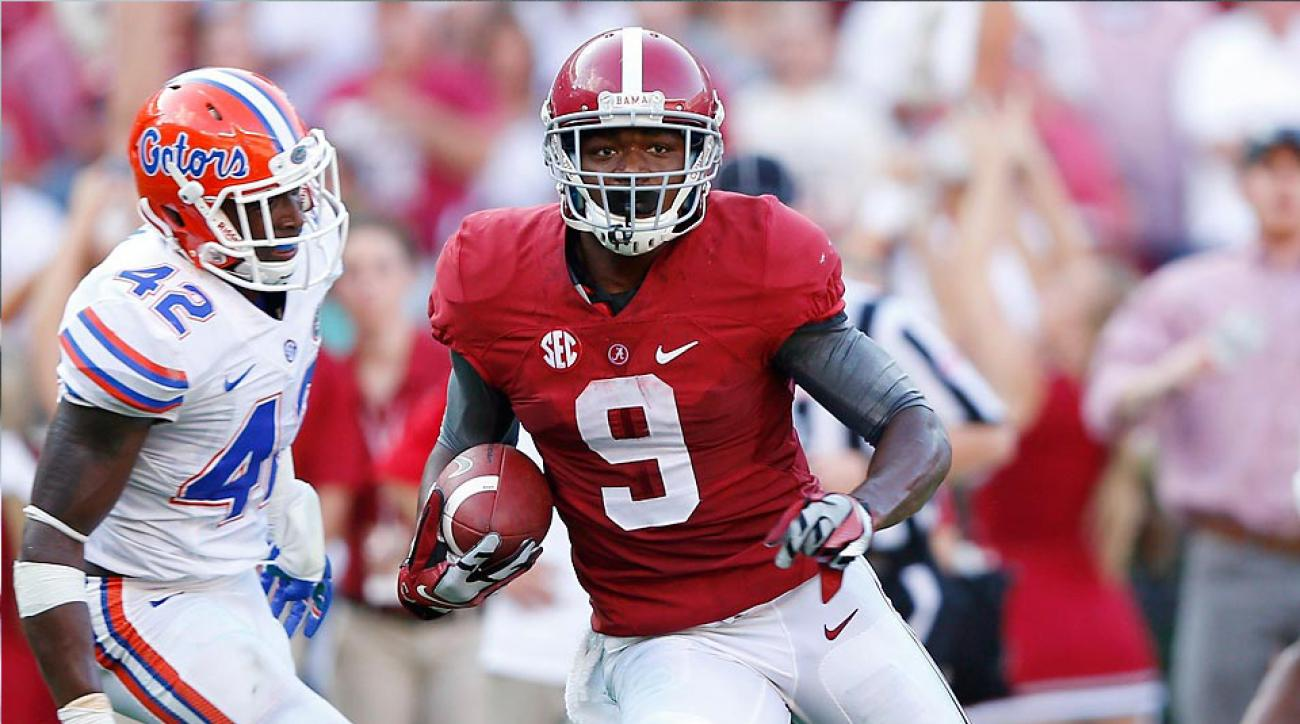 Oakland Raiders select Amari Cooper with the fourth pick in the 2015 NFL draft