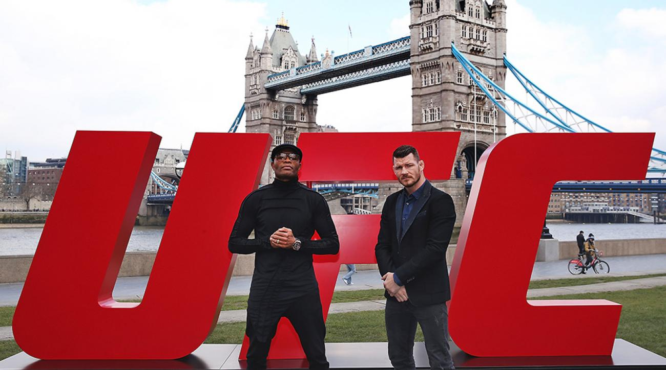 Anderson Silva and Michael Bisping