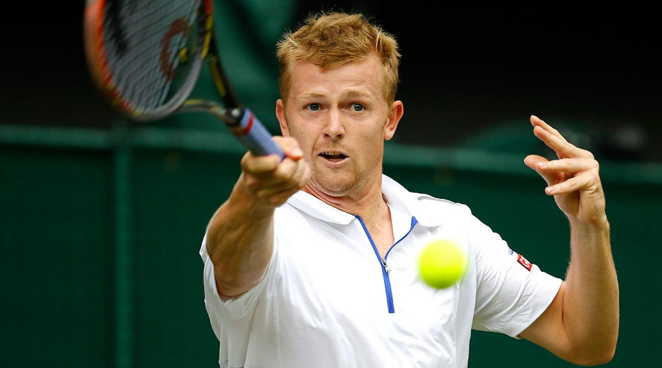Andrey Golubev lost in the first round of Wimbledon to eventual champion Novak Djokovic.