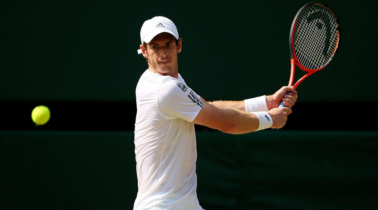 Andy Murray, the third seed at the All England Club, hasn't made a final since winning Wimbledon last year.