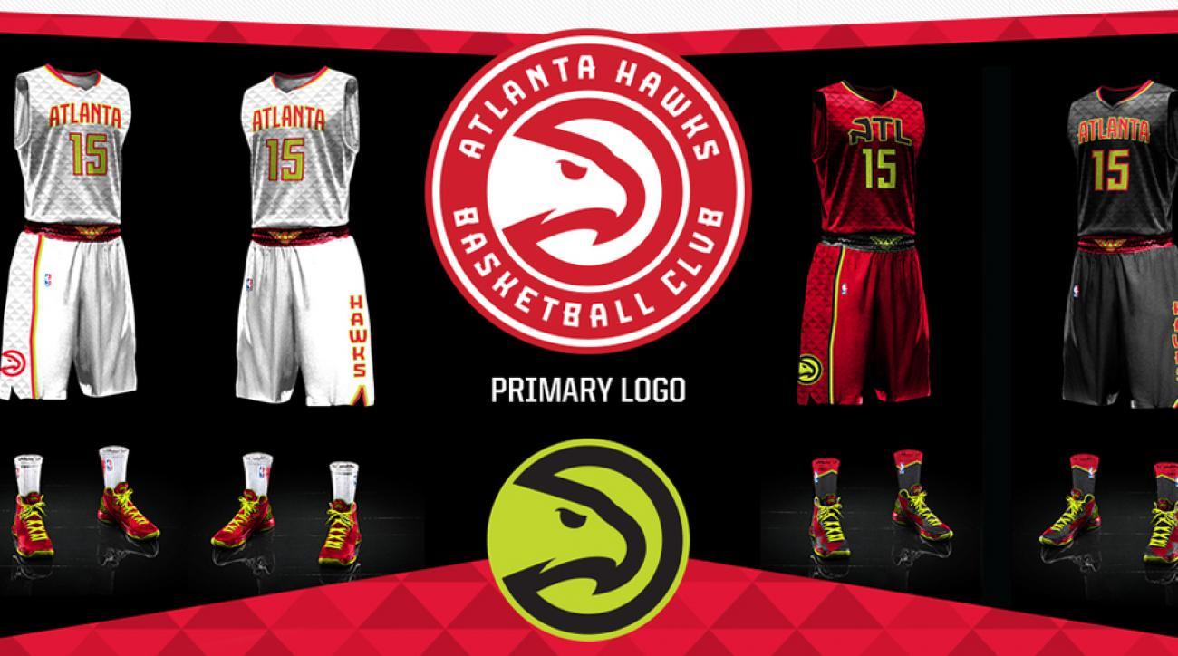 ce7ad92fed4 Atlanta Hawks introduce new uniforms, including volt green color   SI.com