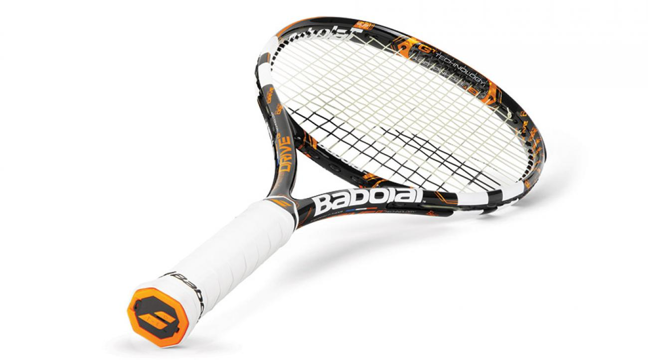 Babolat and Wii remote maker Movea worked to insert an accelerometer, gyroscope, six-hour battery, USB port, Bluetooth connection and 150 hours worth of memory capability all into the racket's hollow grip.