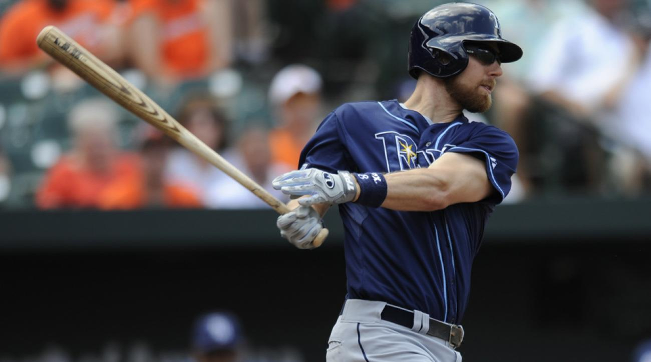 Ben Zobrist is hitting .264/.353/.404 in 381 plate appearances for Tampa Bay and is under team control through the 2015 season.