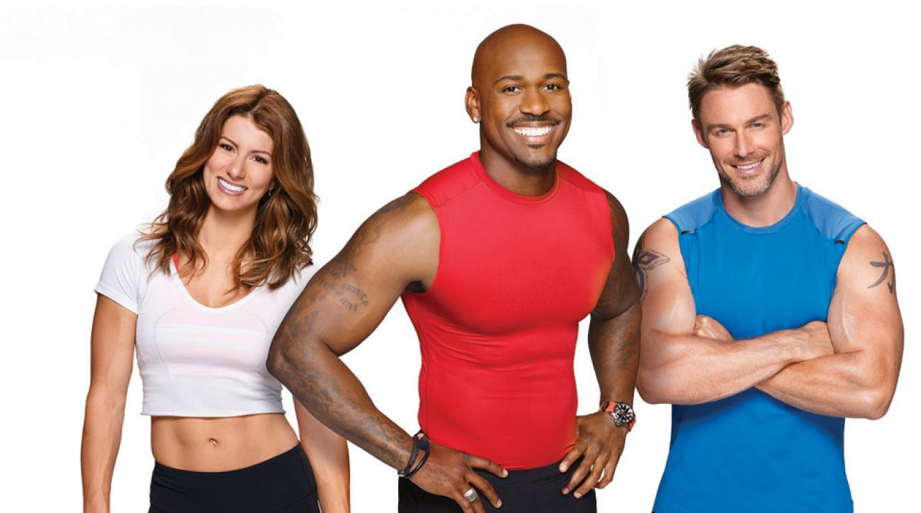 Jennifer Widerstrom, Jessie Pavelka and veteran trainer, Dolvett Quince.