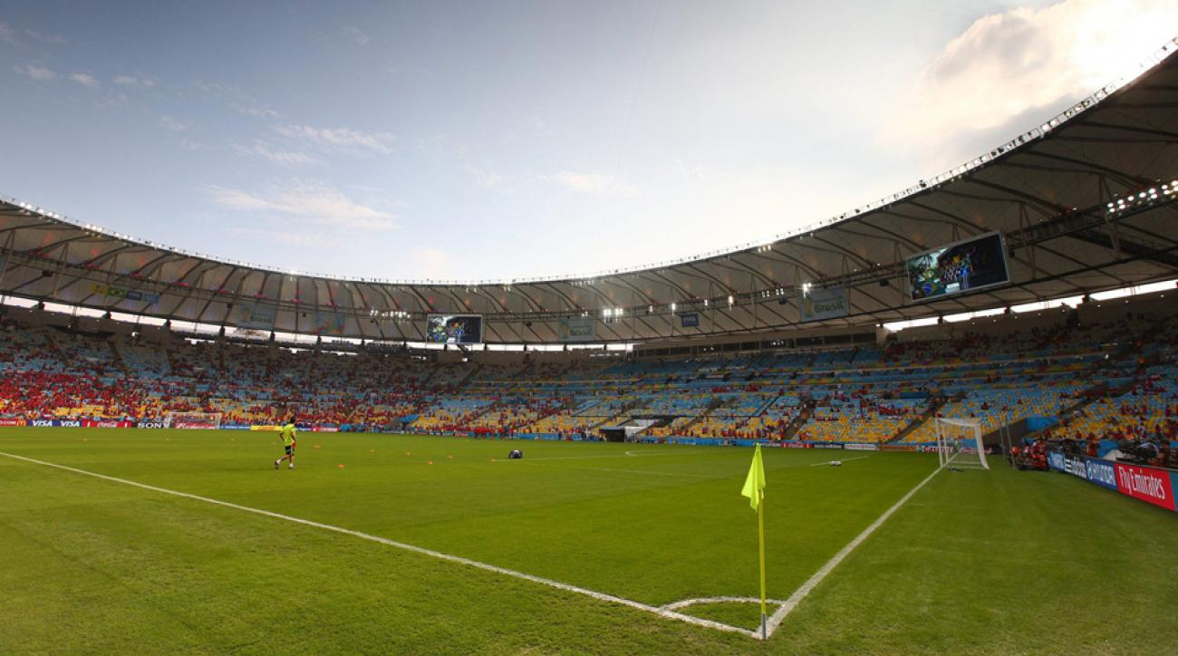 You feel the Maracana before you begin to understand it: the way it shakes the senses; the history involved; how it evokes emotions of places where it's less about games and more about history, that moment that you stood there, feet on hallowed ground.
