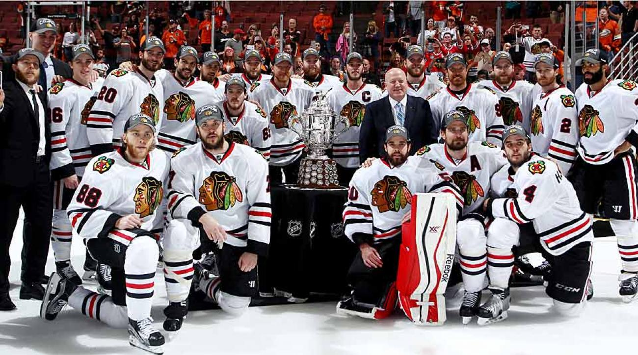 chicago blackhawks player moves timeline: how team was built | si