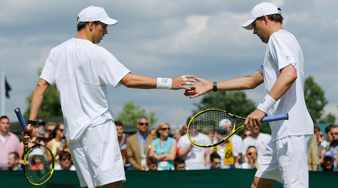 Bob and Mike Bryan are the reigning Wimbledon men's doubles champions.