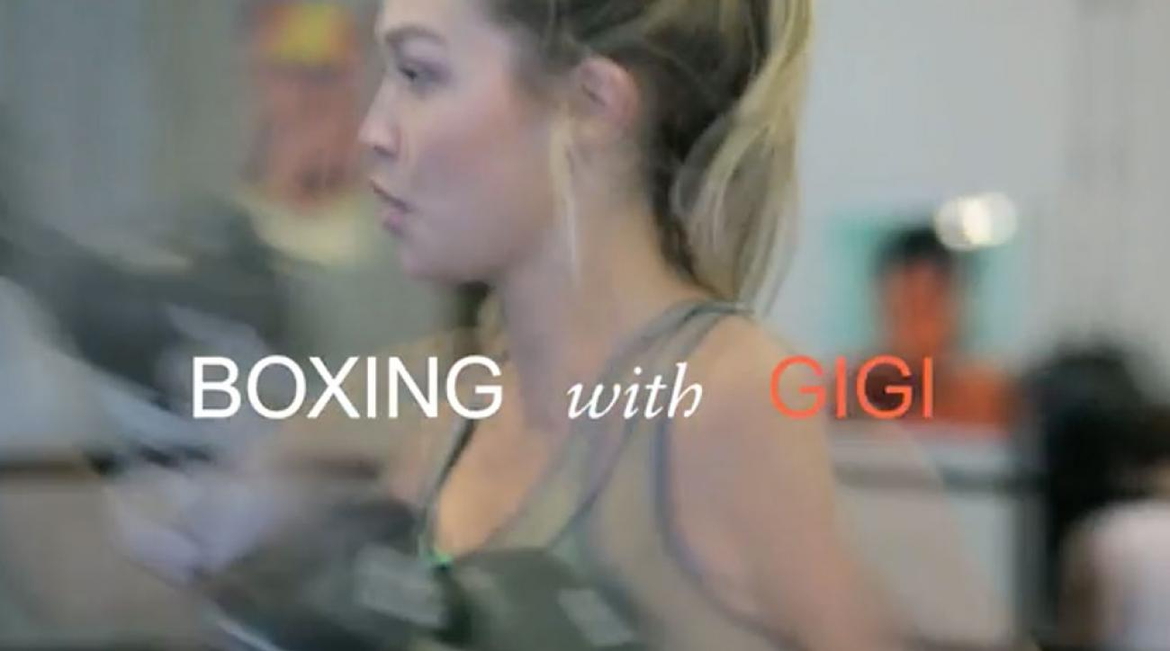 """Box Like a Supermodel: Inside Gigi Hadid's Body-Sculpting Workout"""
