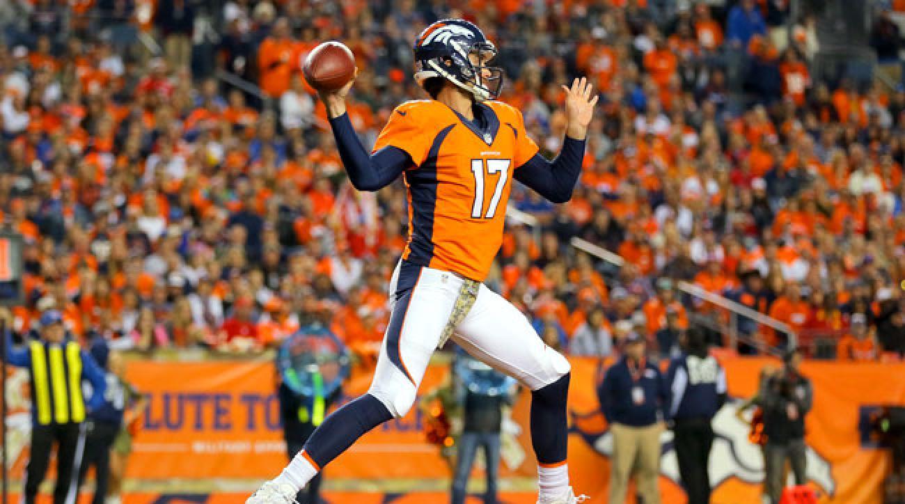 Denver Broncos quarterback Brock Osweiler will make his first career start against the Chicago Bears on Sunday.