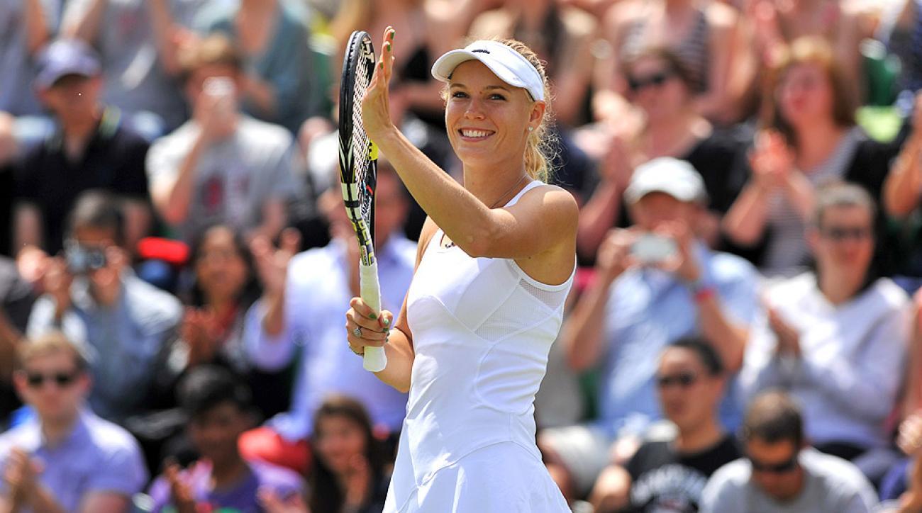 Caroline Wozniacki last reached the fourth round at Wimbledon in 2011, where she lost to Dominika Cibulkova.