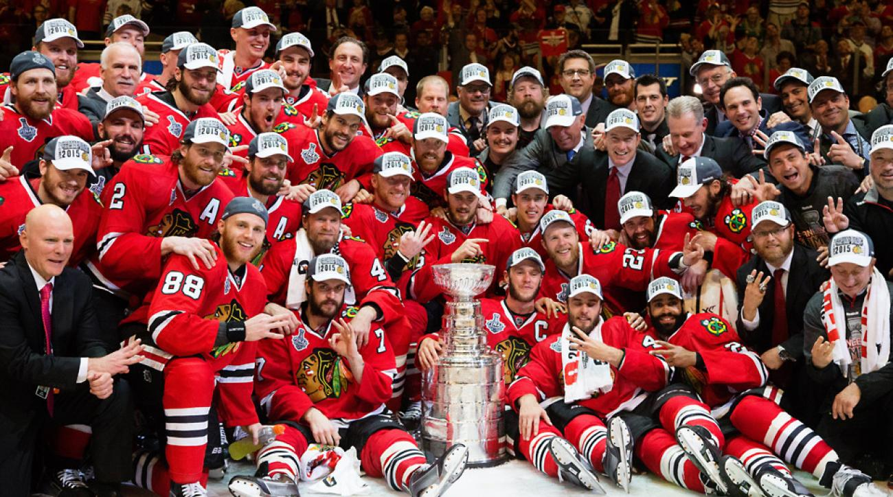 30f0af4c013 Blackhawks down Lightning in Game 6 for third Stanley Cup in six seasons