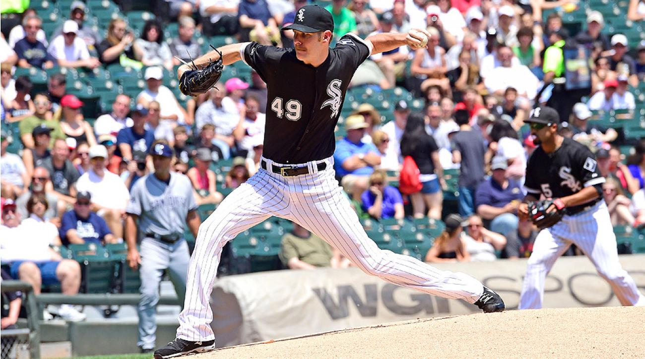 Chris Sale has allowed more than two runs in just four of his 14 starts this season, so don't expect the Royals to knock him around Monday.