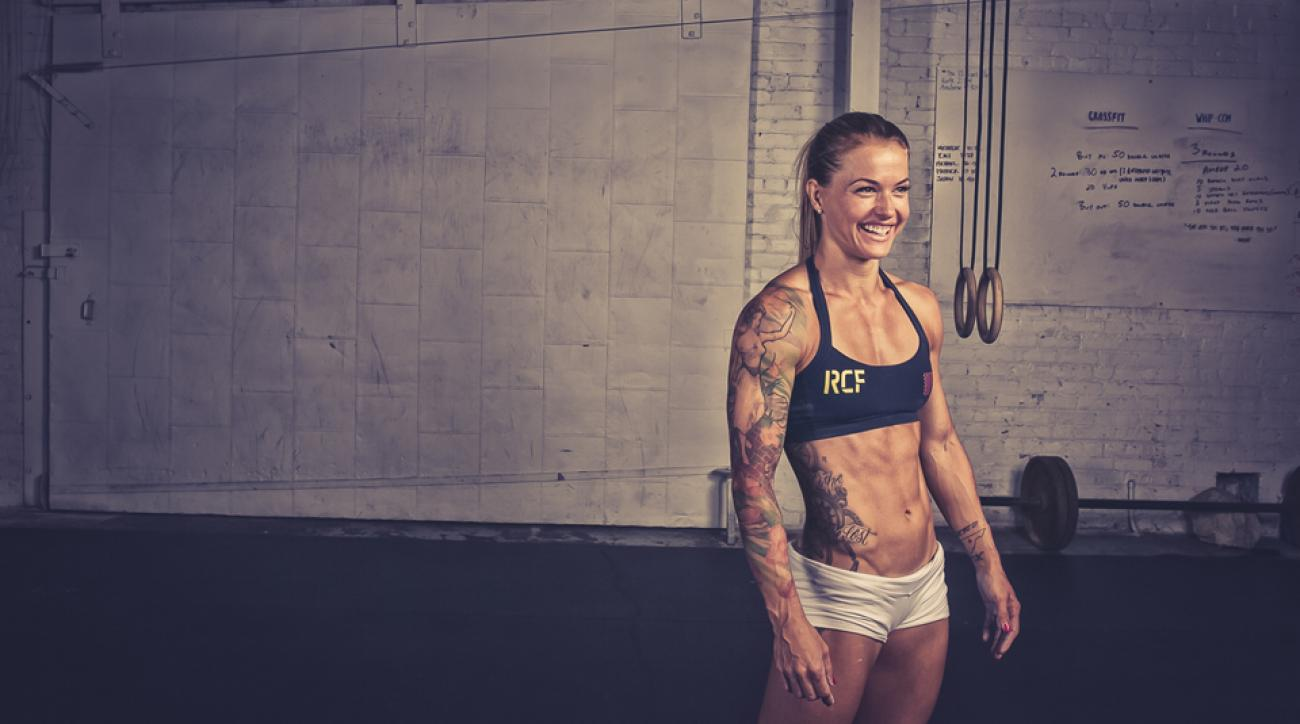 Christmas Joy Abbott.From A Nascar Pit To Crossfit Christmas Abbot Totally Rocks