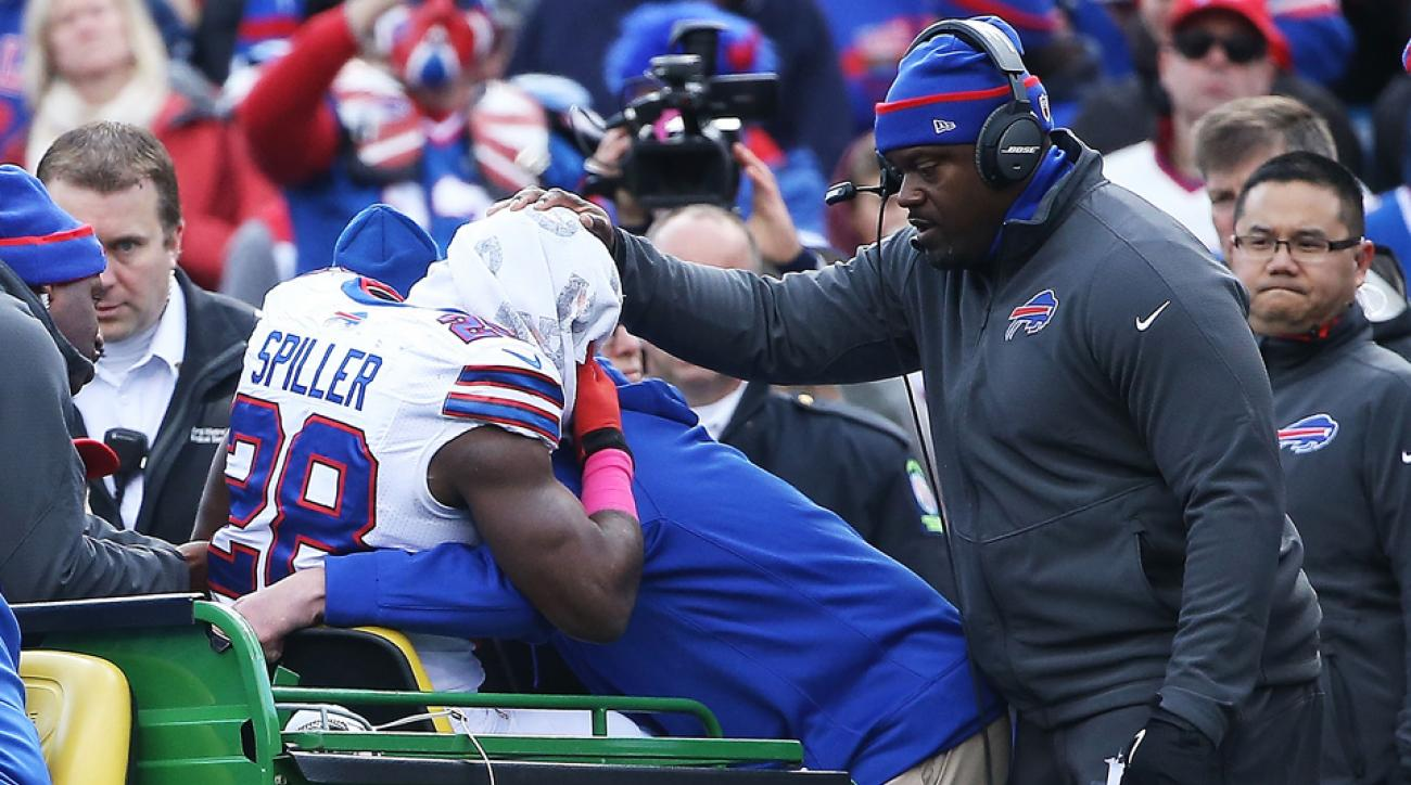 NFL Week 7 Injury Watch: Buffalo Bills RB goes down