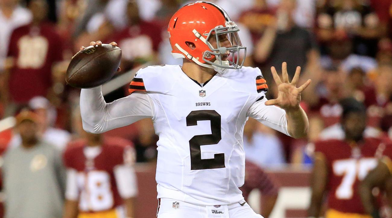 Cleveland Browns Washington Redskins preseason game