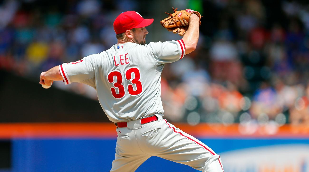 Phillies pitcher Cliff Lee returns from disabled list tonight