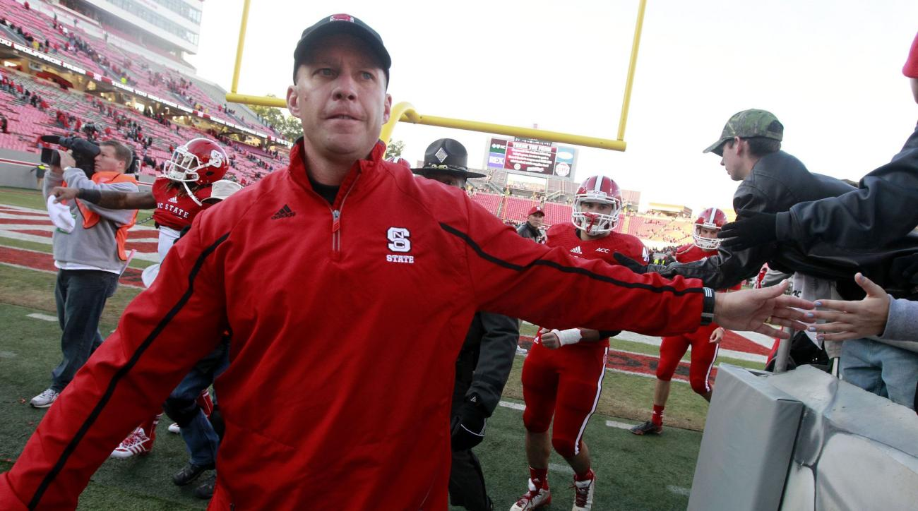 NC State head coach Dave Doeren
