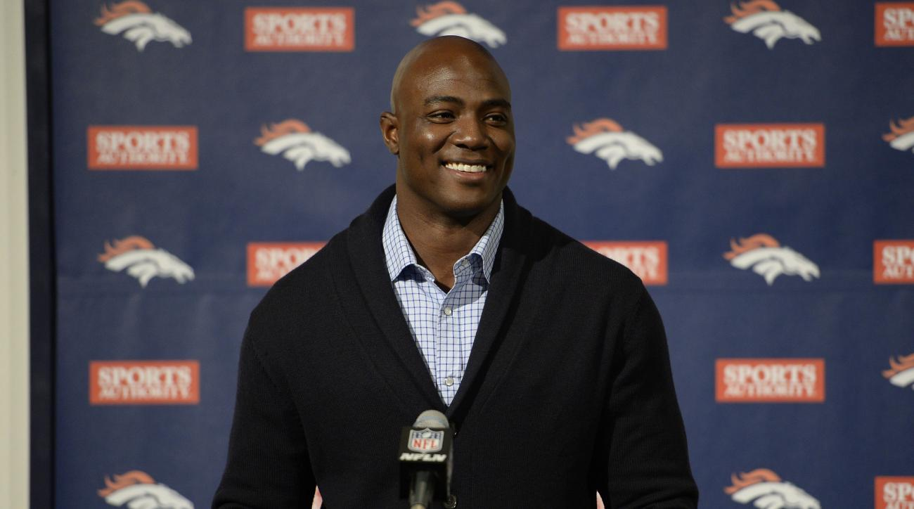 Broncos' defensive end DeMarcus Ware says he is healthy