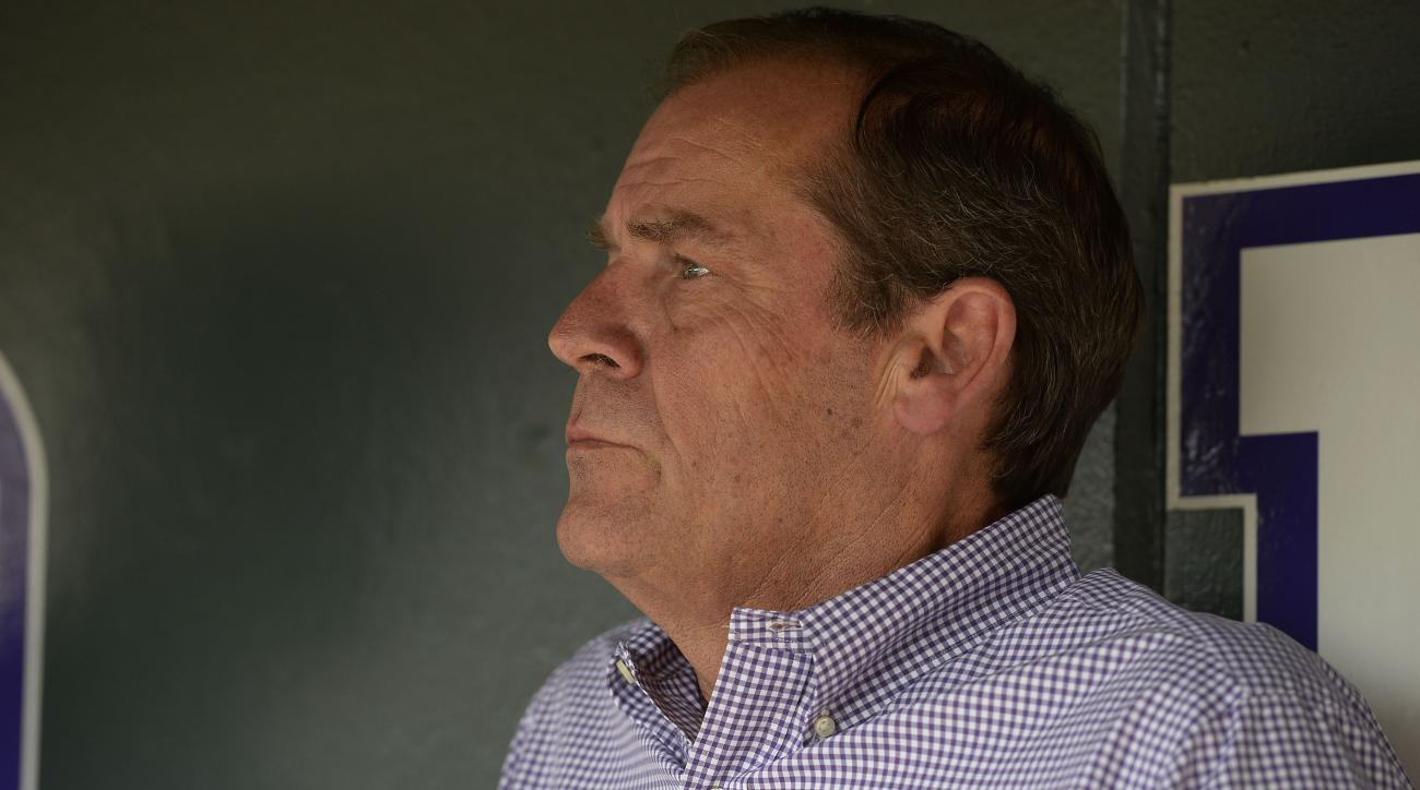 Dick Monfort unhappy with Rockies assistant general manager