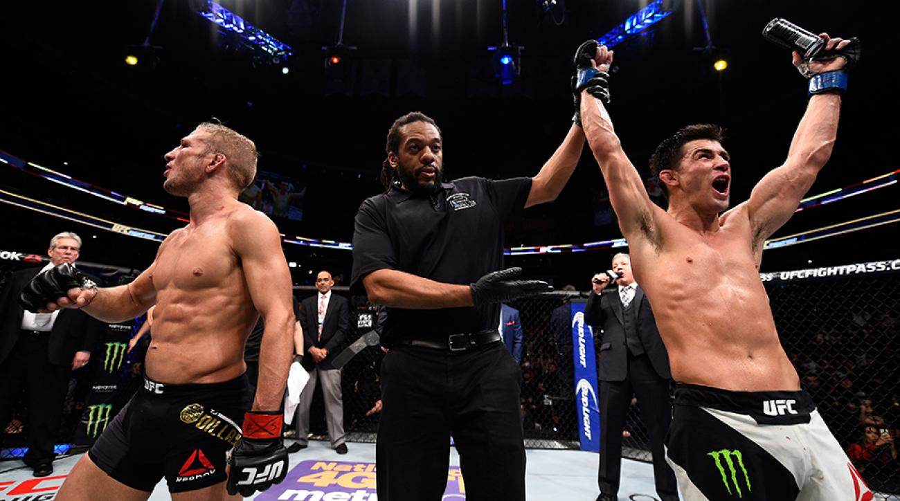 Dominick Cruz gets the victory over T.J. Dillashaw