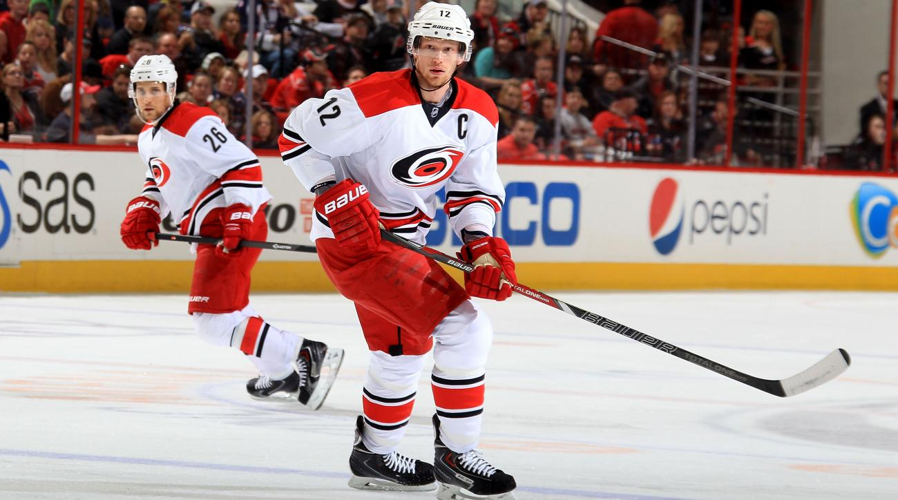 Hurricanes center Eric Staal undergoes surgery