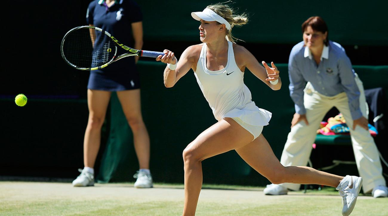 Eugenie Bouchard becomes the first Canadian to reach a Grand Slam final.