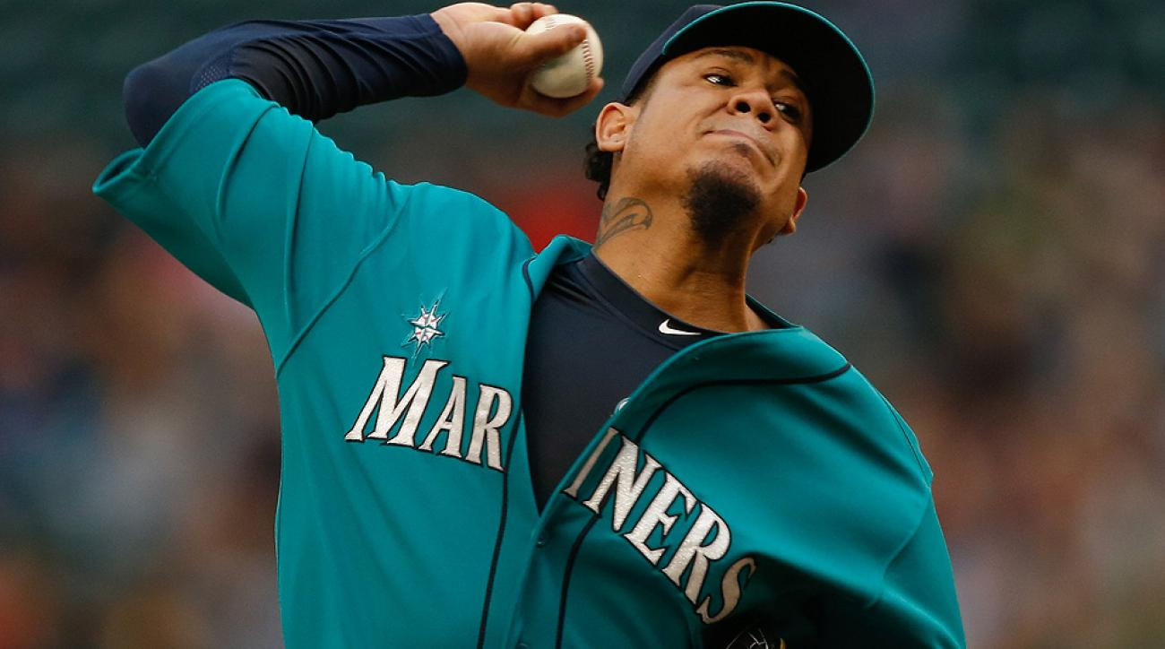 Felix Hernandez's 2.24 ERA is second only to Masahiro Tanaka in the American League, and his 0.96 WHIP is the third-best mark in all of baseball.