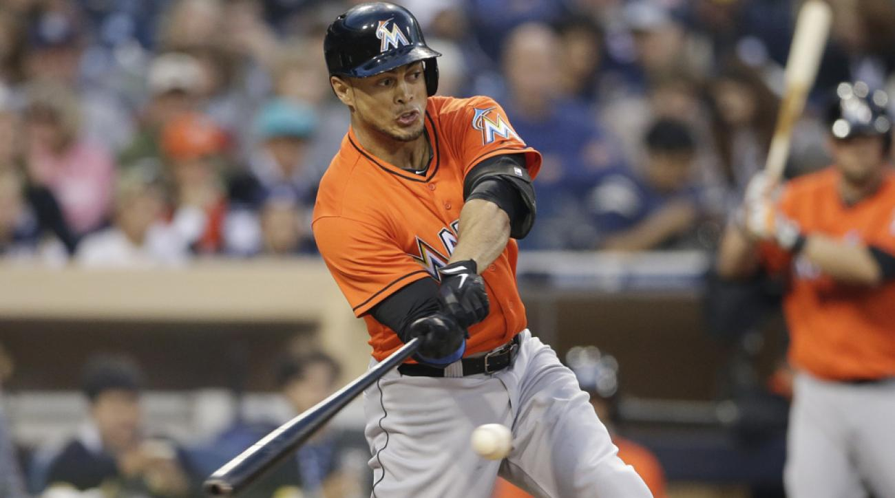 Home Run Derby newcomer Giancarlo Stanton is the odds-on-favorite to win this year's event at 5/2 odds.