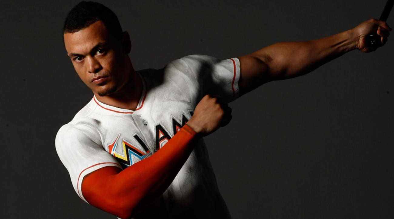 best sneakers d49bc 7fe72 Sports Illustrated: Giancarlo Stanton is MLB's model slugger ...