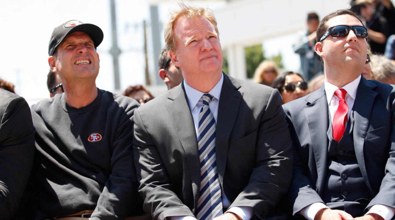 NFL Ray Rice investigation: Roger Goodell won't attend Levi's Stadium Sunday Night Football debut