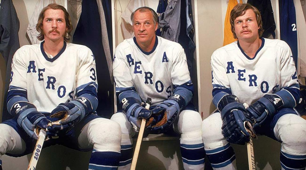 Image result for houston aeros gordie mark and marty howe