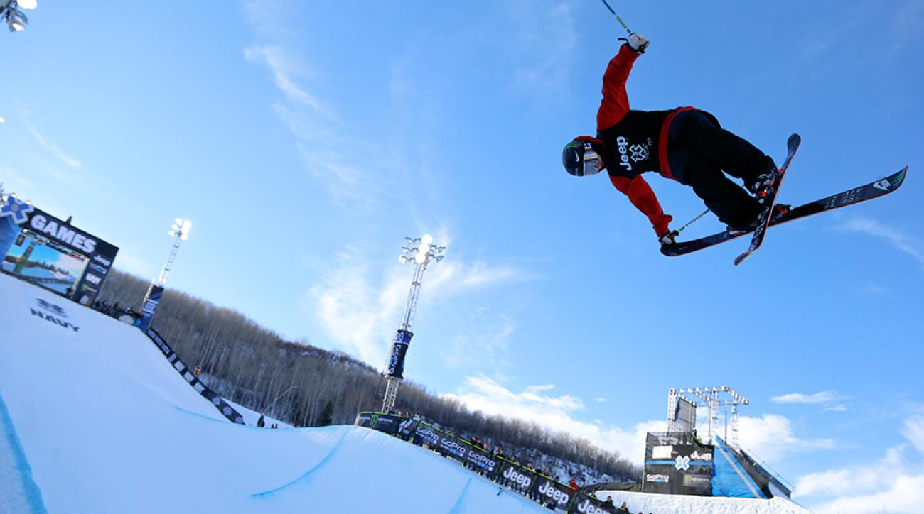 Gus Kenworthy at X Games Aspen 2015