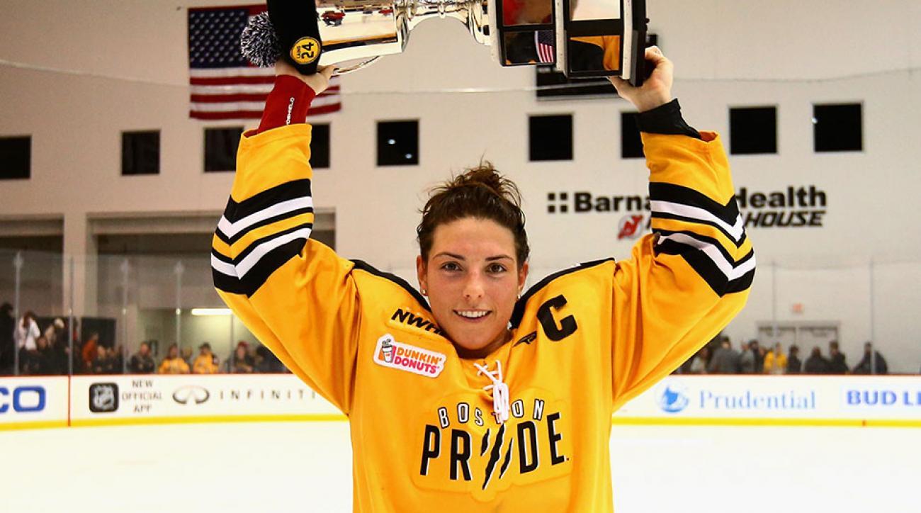 Boston Pride forward Hilary Knight loving life as an NWHL player ... ca9c31ff780