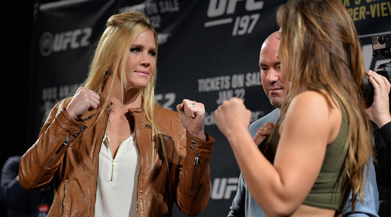 Holly Holm and Miesha Tate