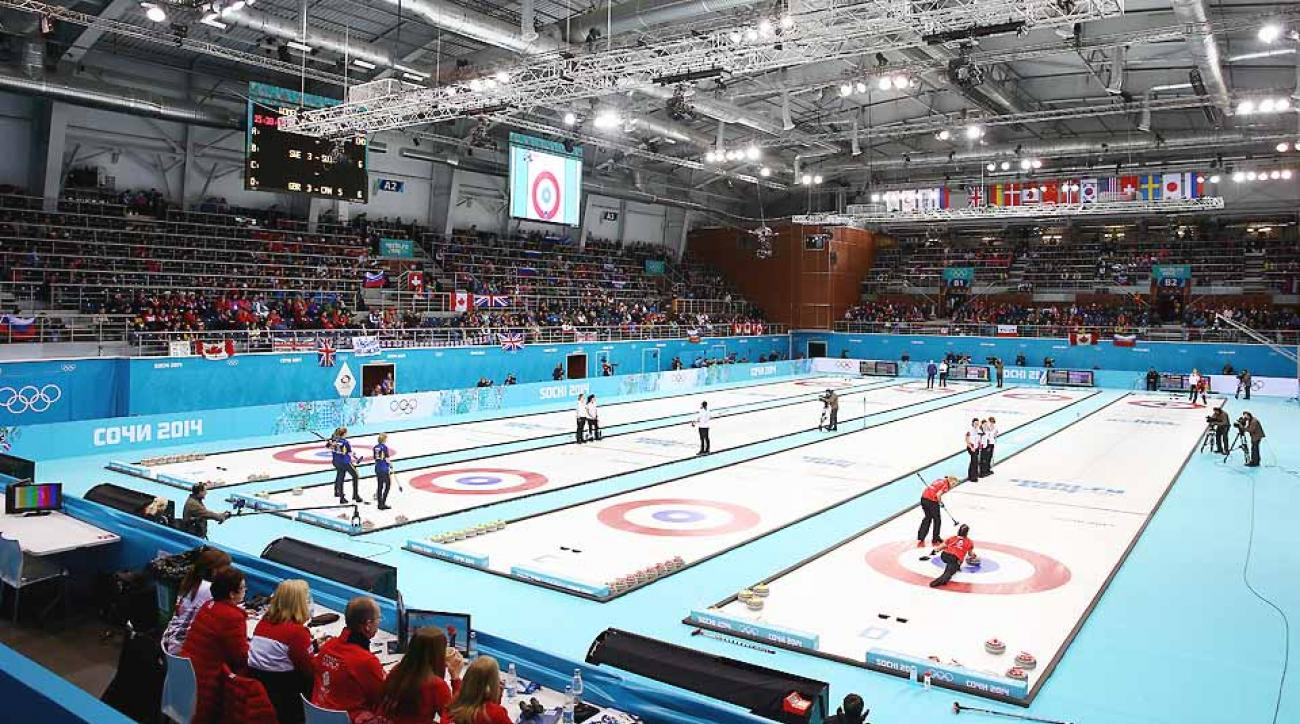 Like Olympics spectators, the Ice Cube Curling Center is not long for Sochi.