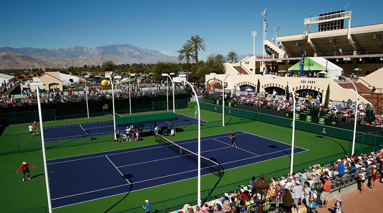 Indian Wells Tennis Garden Has New Look For Bnp Paribas Open