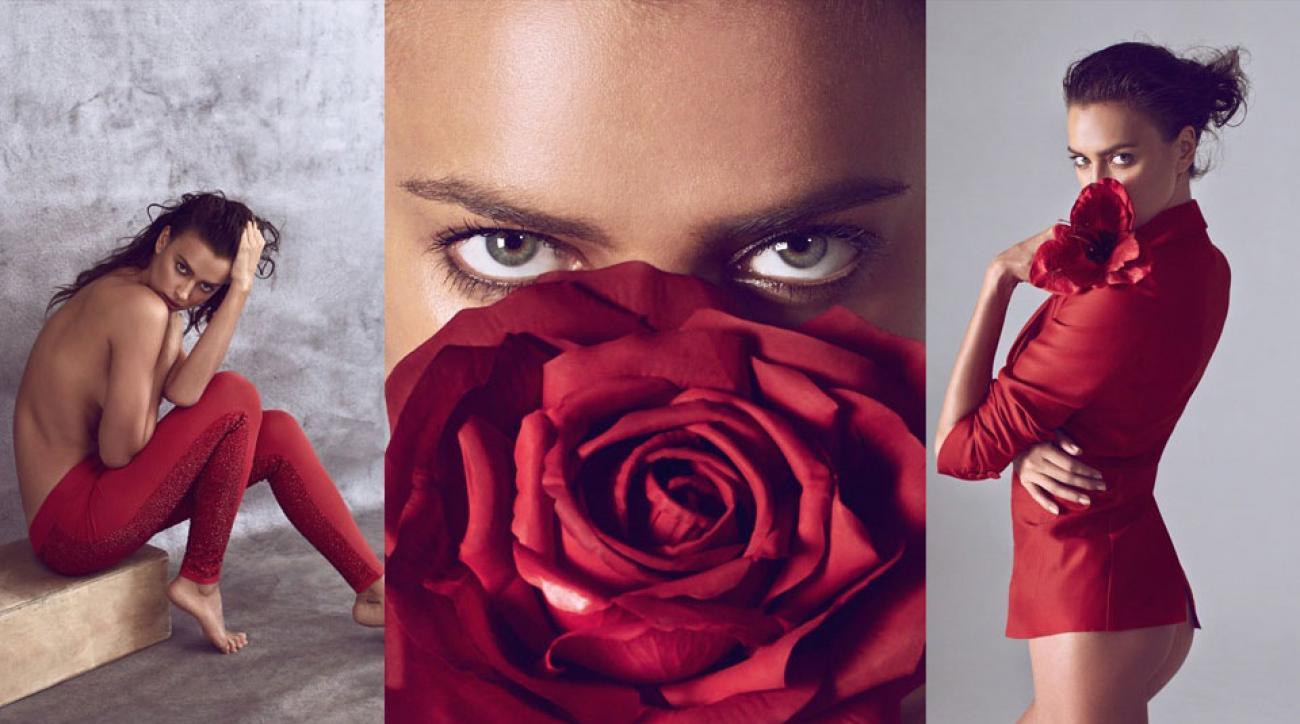 Irina Shayk for Harper's Bazaar China