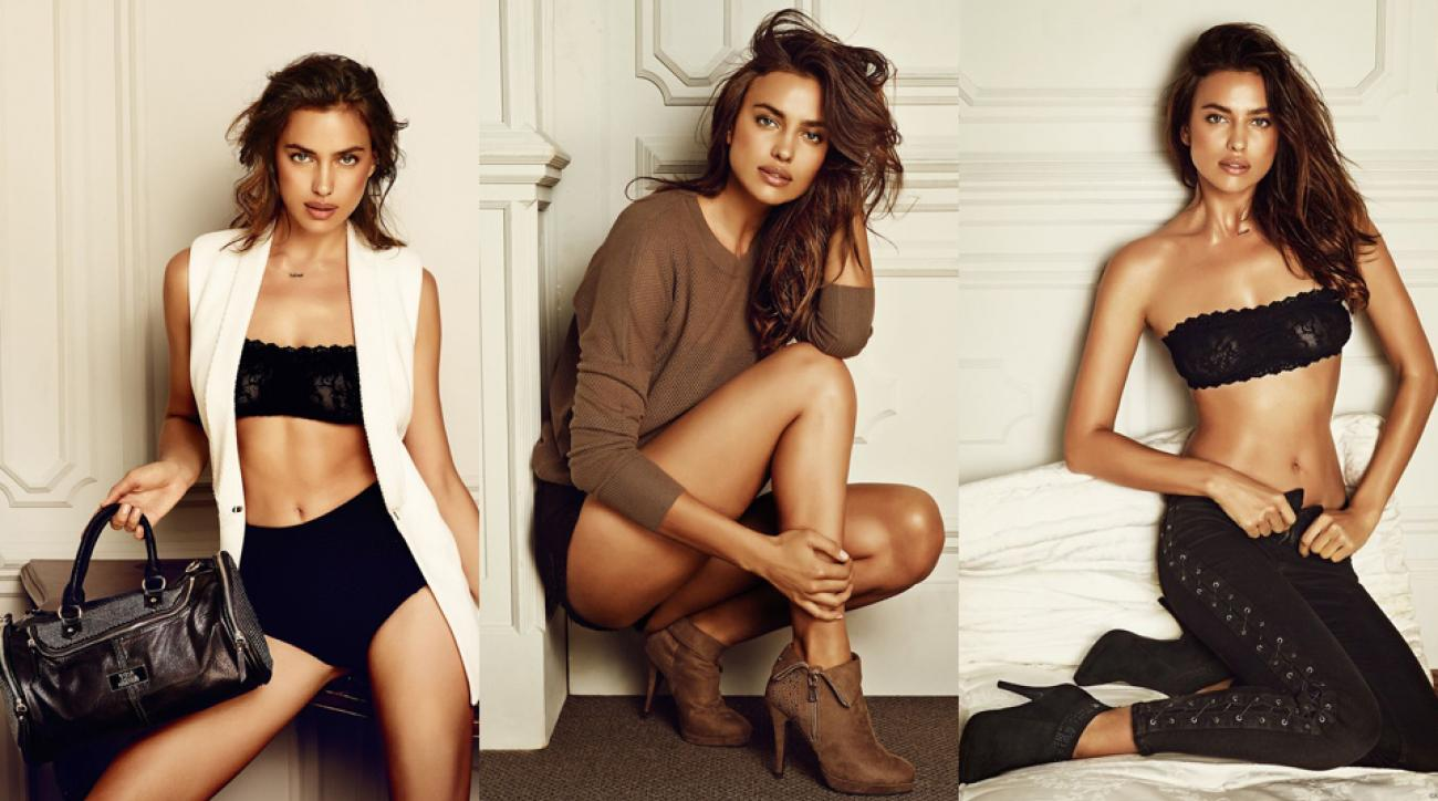 Irina Shayk for Xti Footwear is about so much more than footwear, and more news for your Wednesday Swim