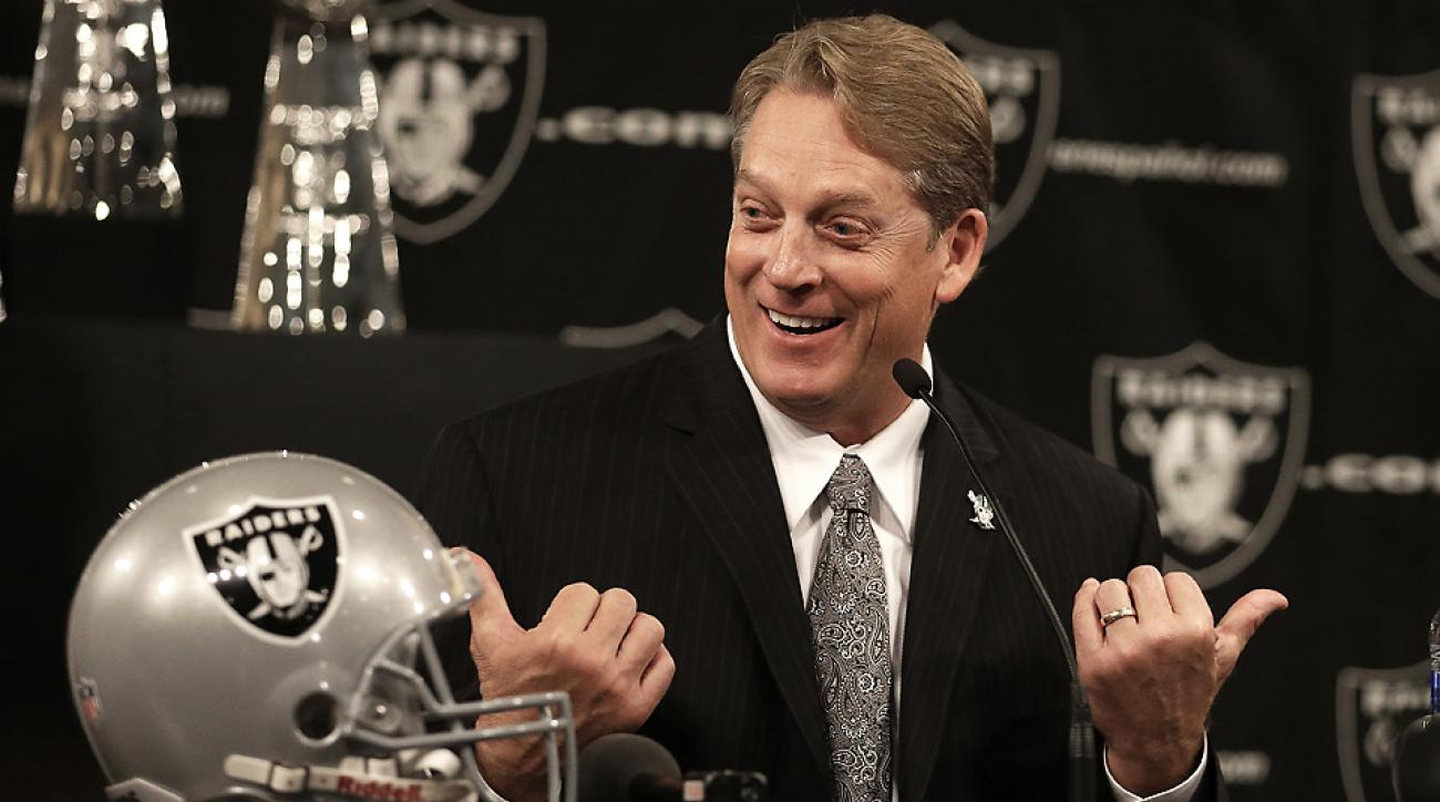 New Raiders head coach Jack Del Rio added Lions assistant Bobby Johnson to his staff.